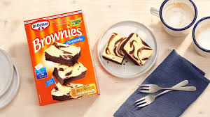 die neue backmischung dr oetker brownies cheesecake