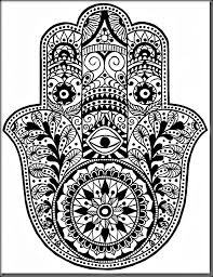Simple Mandala Coloring Sheets