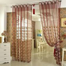 Navy Geometric Pattern Curtains by Patterned Curtain Panels Embroidery Yarn Patterned Red Window