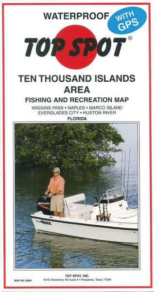 Top Spot Map N204 10 Thousand Islands
