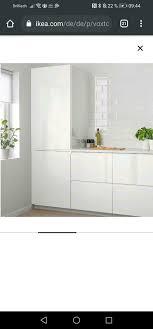 ikea voxtorp metod küchenfront hochglanz weiß matt weiss