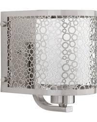 deal alert progress lighting p2161 09 mingle brushed nickel wall