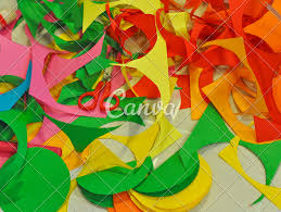 Colour Paper Decoration