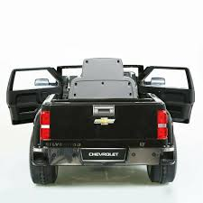 100 Chevy Silverado Toy Truck Kids Ride On Vehicle Play 6 Volt Battery