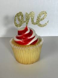 First Birthday Cupcake Toppers,