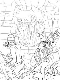 Click To See Printable Version Of Shadrach Meshach And Abednego In The Fiery Furnace Coloring