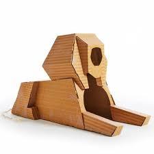 poopy cat maison de jeu pour chats landmarks sphinx lmsphx achat