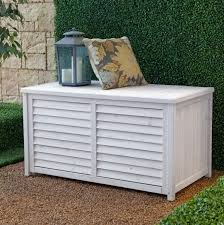 patio storage benches for organize your garden elegant furniture