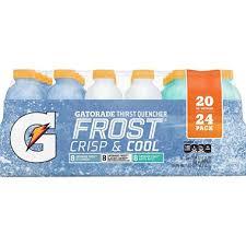 Gatorade Frost Variety Pack 20 Oz 24 Pk