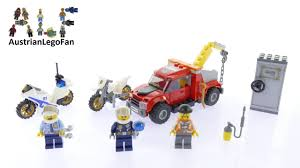 100 Lego City Tow Truck 60137 Trouble Speed Build Review