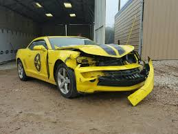 Salvage Chevrolet Camaro for Sale at Copart Auto Auction