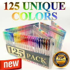 Specifications Of 125 Gel Pen Set Adult Coloring Book