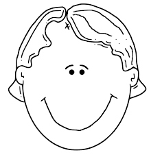 Indian Boy Face Coloring Pages