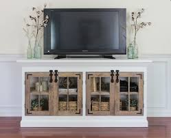 9 Free TV Stand Plans You Can DIY Right Now