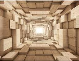 fototapeten 396 x 280 cm holz optik 3d effekt vlies wanddekoration wohnzimmer schlafzimmer deutsche manufaktur beige 9052012a