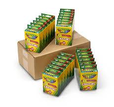 Crayola Bathtub Crayons 18 Vibrant Colors by Amazon Com Crayola 24 Count Crayons 6 Pack Toys U0026 Games