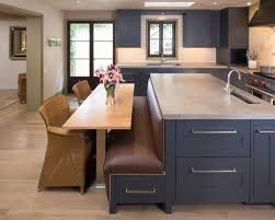 kitchen island with booth seating island banquette houzz best