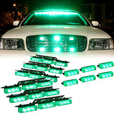 Amazon.com: DT MOTO™ Green 54x LED Emergency Vehicle Dash ... Rupse 4 Led Strobe Lights 1224v Super Bright High Power Car Truck G Extreme Vehicle Led Warning Light 3w Slave Surface 12v 24 Long Bar Red White Flash Lamp 4w Emergency Side Marker Grille W Builtin Controller Watt Mount Anderson Marine Division Peterson Manufacturing Company 2x22 Flasher Bars With 54 Hazard Police Grill 911 Signal Usa Unveils Its New Dodge Charger Demo 12 36w Work 6 6w Waterproof Emergencyc Flashing