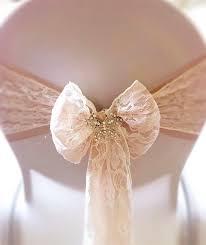 ruban pour noeud de chaise ruban naturel bobine 10cm x 10m rubans mariage