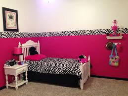hot pink and zebra bedroom ideas beautiful pink decoration