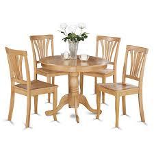 Antique Dining Set - Wood - Oak - 5 Pieces | Lowe's Canada