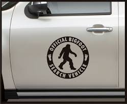 100 Truck Door Decals Product Official Bigfoot Search Vehicle Set Vinyl Decal
