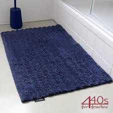 zone premium badematte midnight blue 100 baumwolle ca 80 cm l