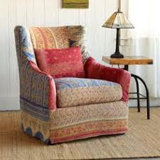 World Market Chair And A Half by Majuli Slipcovered Sari Chair Precious Patches Of Vintage