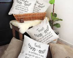 Timeless Wreath Bible Verse Pillow Throw Word Inspiration