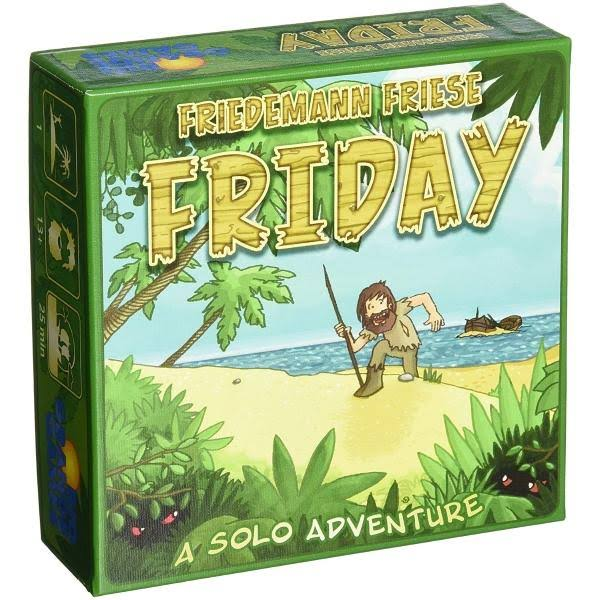 Friday: A Solo Adventure - Friedemann Friese