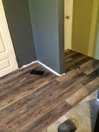 Grip Strip Vinyl Flooring by Vinyl Plank Flooring Review Diy Install General Home