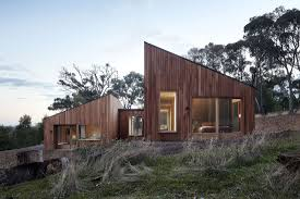 100 Modern Wooden House Design A Wood Two Halves