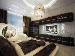 moderne schlafzimmer farben braun vermittelt luxus