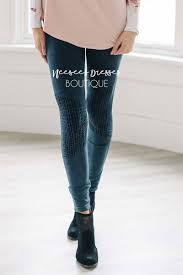 cute navy moto leggings affordable trendy and modest clothing