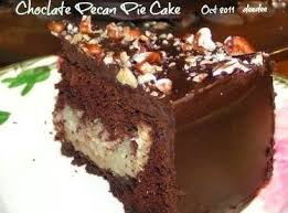 Chocolate Pecan Pie Cake Recipe