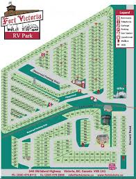 Fort Victoria RV Park And Campground Layout