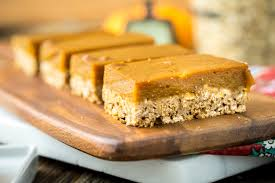 Healthy Pumpkin Desserts by Oatmeal Pumpkin Pie Bars