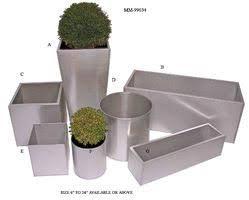 Metal Garden Planters Home Design Ideas and