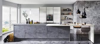 moderne küche in beton grau küche cologne