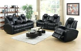 recliner furniture reclining sofa with console and massage