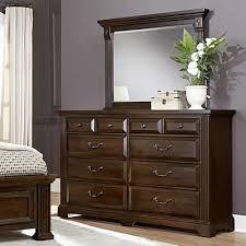 Vaughan Bassett Dresser With Mirror by Vaughan Bassett Dresser Mirrors Woodlands Bb98 446 Mirror From