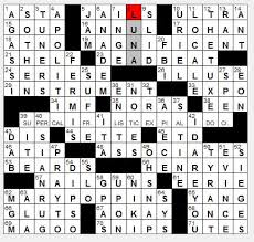 Rex Parker Does the NYT Crossword Puzzle Law firm employees THU