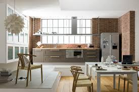 cuisine ouverte sur le salon amenagement salon cuisine 35m2 cuisine americaine avec bar pinacotech