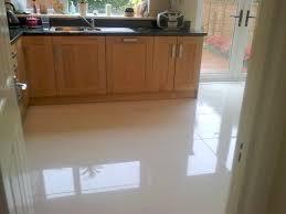 Best Flooring For Kitchen And Living Room by White Kitchen Tile Floor Interior Design