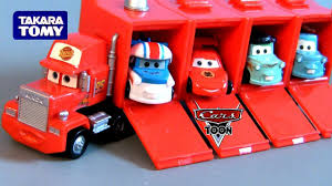 100 Mack Truck Hauler Build Tomica Takara Tomy Toys From Japan Disney