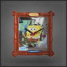 le bureau originale horloge bob l éponge spongebob squarepants une très chouette