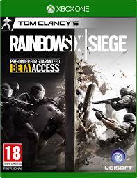 siege xbox one tom clancys rainbow six siege xbox one by ubisoft xbox