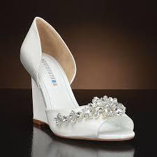 17 best LUXVEER Dark Blue Wedding Wedges with Lace Ivory Medium