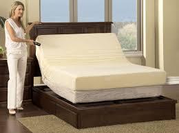 bedroom furniture adjustable bed drawer pedestal american made