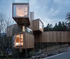 100 Tree House Studio Wood Gallery Of The Qiyun Mountain Bengo 11